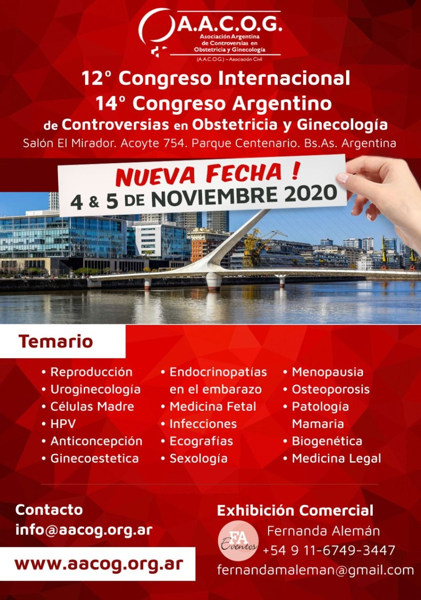 Congreso AACOG NOV