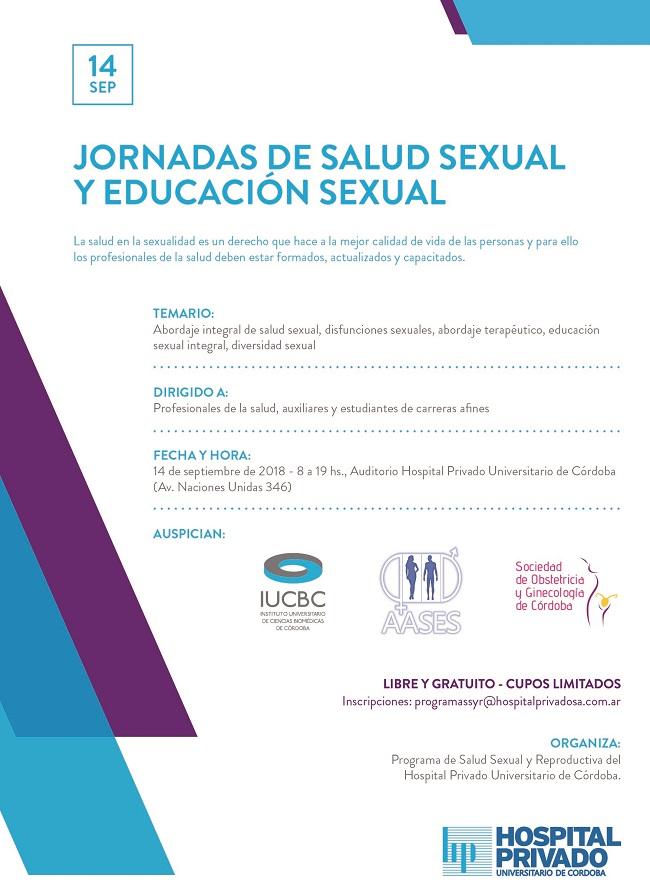 Jornadas de Salud Sexual y Educación Sexual (Sociedad de Obstetricia ...